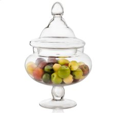 Mini Fruit Assortment In Glass Apothecary Jar