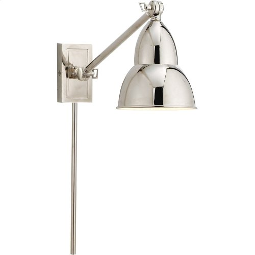 Visual Comfort S2601PN Studio French Library 21 inch 50 watt Polished Nickel Task Wall Light