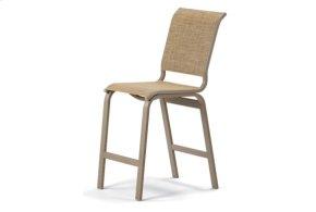 Balcony Height Armless Cafe Chair