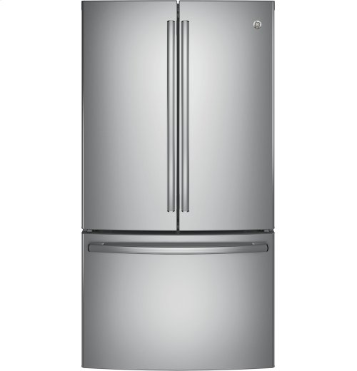 Clearance Model - One of a Kind - GE® ENERGY STAR® 28.5 Cu. Ft. French-Door Refrigerator