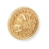Antique Gold Acanthus Pull