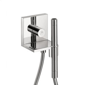 Chrome Hand shower module 120/120 for concealed installation square Product Image