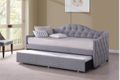 Jamie Daybed - Optional Trundle - Gray