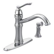 Belfield chrome one-handle kitchen faucet