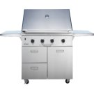 "Discovery 36"" Outdoor Grill with Chrome Trim (order in conjunction with OBC36 Outdoor Grill Cart) Product Image"