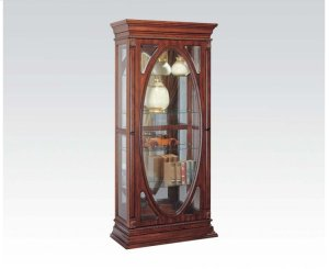 Furniture Stores In Rogers Ar 90052 in by Acme Furniture Inc in Rogers, AR - Cherry Curio Cabinet