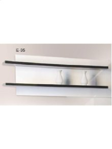Wall Shelf Wenge/white