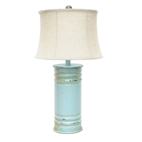 Antique Can Table Lamp