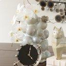 Spheres Vase-Silver Mist-Med Product Image