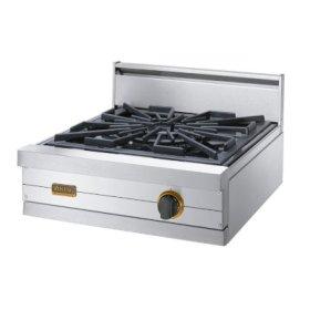 "24"" Classic Gas Wok/Cooker, Propane Gas, Brass Accent"