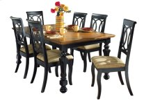 Rect Ext Dining Table
