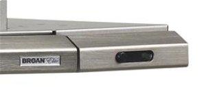 """30"""" 300 CFM Brushed Aluminum Slide Out Range Hood"""