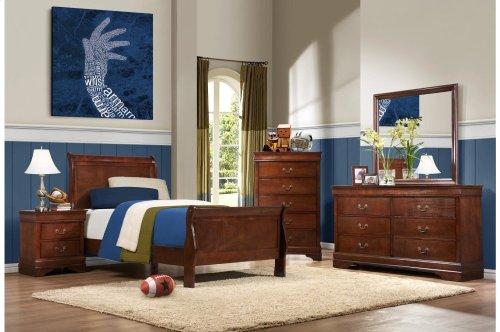 Eastern King Sleigh Bed