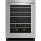 "24"" Under Counter Wine Cellar, Euro-Style Stainless Product Image"