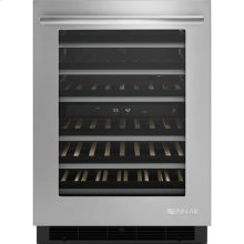 """24"""" Under Counter Wine Cellar, Euro-Style Stainless"""