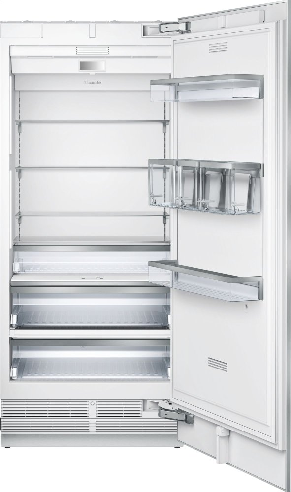 Thermador36-Inch Built-In Panel Ready Fresh Food Column