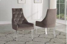 Vogue Acrylic-Leg Dining Chair