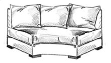 Reynolds Armless Wedge Loveseat W170-AWL