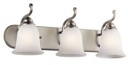 Camerena 3 Light Vanity Light Nickel