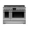 """Fisher & Paykel Dual Fuel Range, 48"""", 8 Burners, Self-Cleaning"""