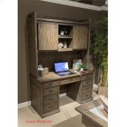 Barn Door Credenza Hutch Product Image