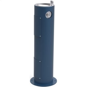 Elkay Outdoor Fountain Pedestal Non-Filtered, Non-Refrigerated Blue