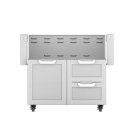 "36""dbl. Drawer and Door Cart Product Image"