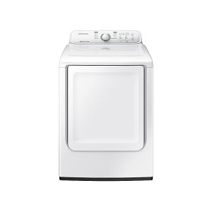 SAMSUNG7.2 cu. ft. Gas Dryer with Moisture Sensor in White