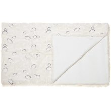 "Fur N9501 Ivory 50"" X 70"" Throw Blanket"