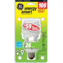 GE 26 Watt Soft White Spiral®