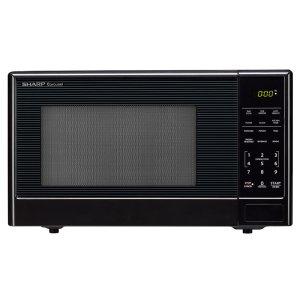 Sharp Appliances1.1 Cu. Ft. 1000w Sharp Black Carousel Countertop Microwave Oven