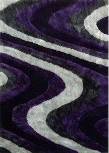 112 Gray Purple Rug