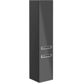 Tall cabinet - Glossy Grey