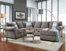 Charisma Smoke 3-Piece Sectional Product Image