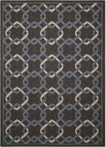 Caribbean Crb16 Charcoal Rectangle Rug 5'3'' X 7'5''