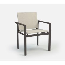 Cafe Chair (Stackable) - Sling