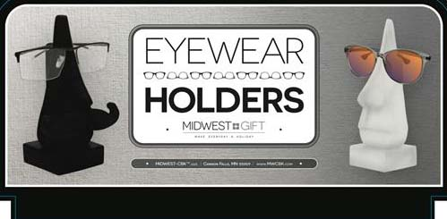 Eyewear Holder Figures Sign.