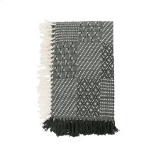 Hand Woven Eve Throw Green