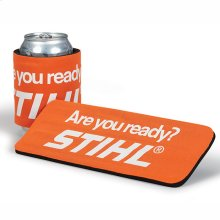 Dress up your drink with this beverage insulator!