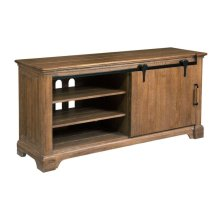 Sliding Door Entertainment Console
