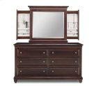 6/Deep Drawer Florentino Long Dresser Product Image