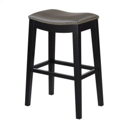 30'' Bar Stool W/no Back-kd-pu Gray#al850-3 (2/ctn) Product Image
