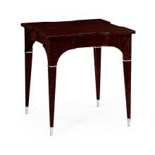 Black Eucalyptus Square Lamp Table