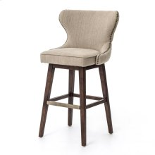 Bar Stool Size Hyde Clay Cover Madison Finish Julie Swivel Bar + Counter Stool