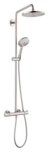 Brushed Nickel Raindance S 240 Showerpipe, 2.5 GPM