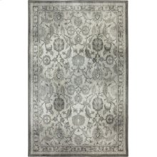New Ross Ash Grey Rectangle 3ft 6in X 5ft 6in