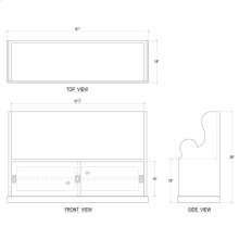 Lincoln Entry Bench Large - GMI WHD