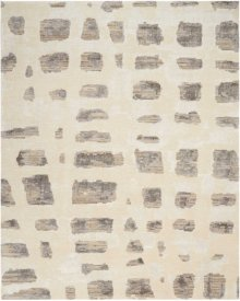 Christopher Guy Wool Collection Cgw12 Marble White/misted Morning Square Rug 8' X 8'