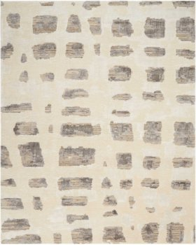 CHRISTOPHER GUY WOOL COLLECTION CGW12 MARBLE WHITE/MISTED MORNING SQUARE RUG 12' x 12'
