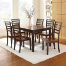 """Abaco Table, 36""""x48""""x60"""" w/12"""" Butterfly Leaf Product Image"""